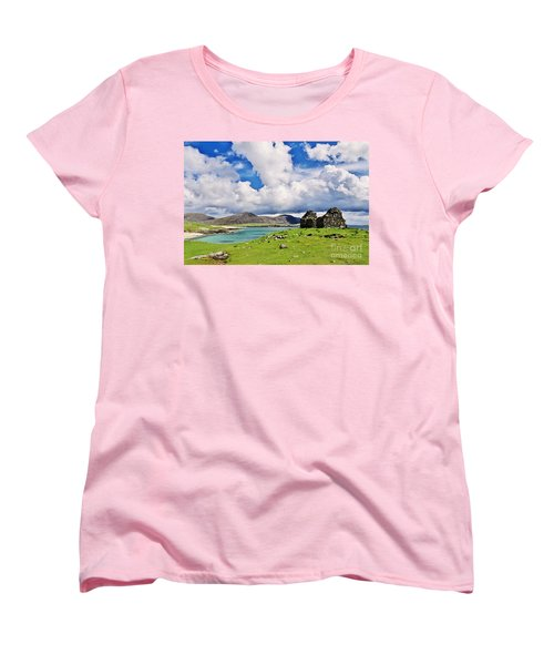A Sunny Day In The Hebrides Women's T-Shirt (Standard Cut) by Juergen Klust