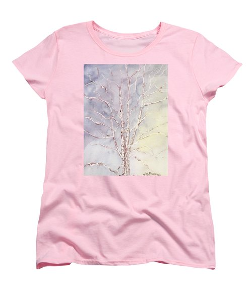 A Tree In Winter Women's T-Shirt (Standard Cut)