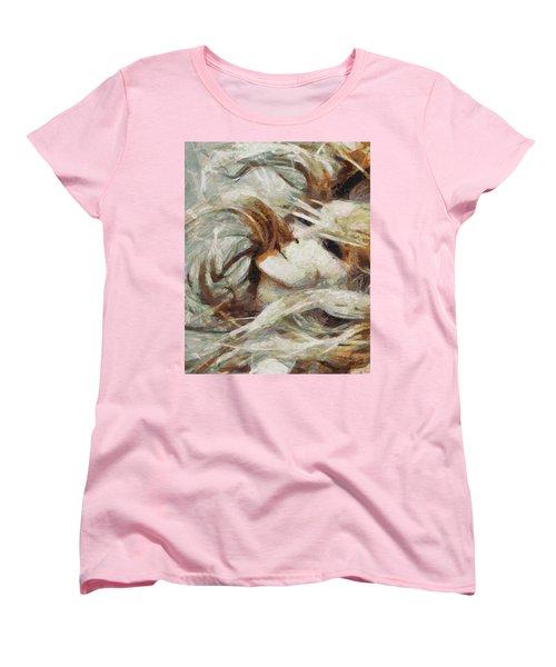 Women's T-Shirt (Standard Cut) featuring the painting A Wild Dance by Joe Misrasi