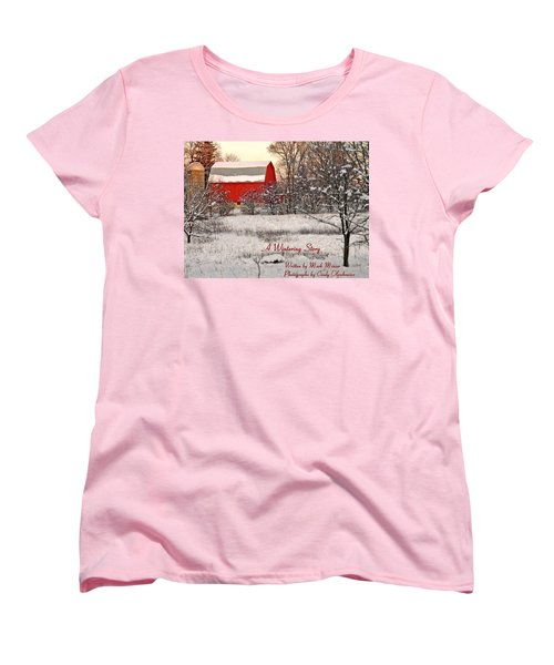 A Wintering Story Women's T-Shirt (Standard Cut) by Mark Minier