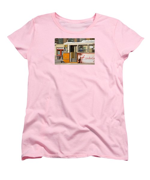 A Yellow Tram On The Streets Of Budapest Hungary Women's T-Shirt (Standard Cut) by Imran Ahmed