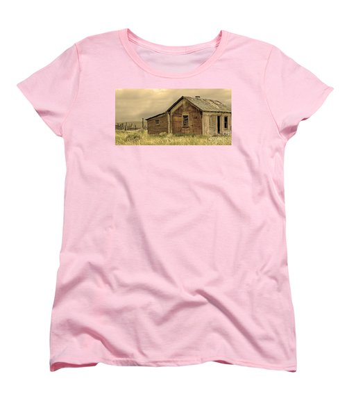 Women's T-Shirt (Standard Cut) featuring the photograph Abandoned by Nick  Boren