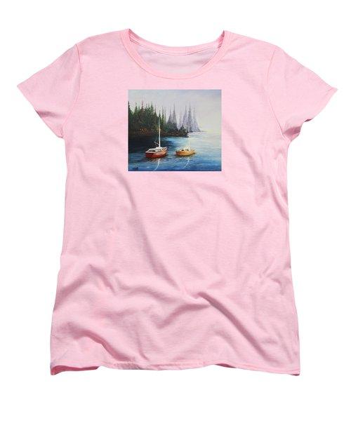 Acrylic Msc 110  Women's T-Shirt (Standard Cut) by Mario Sergio Calzi