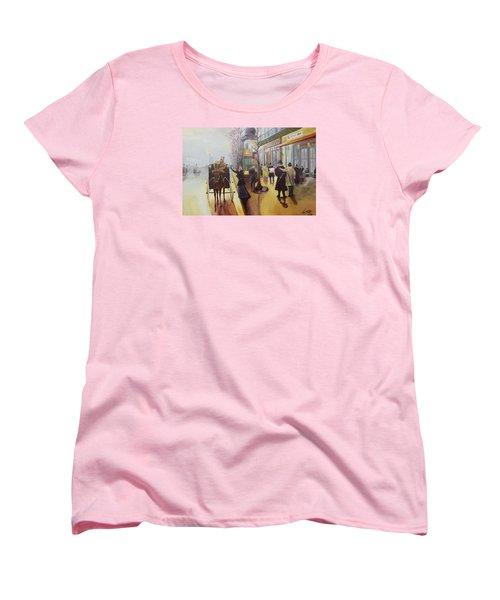 Acrylic Msc 178  Women's T-Shirt (Standard Cut) by Mario Sergio Calzi