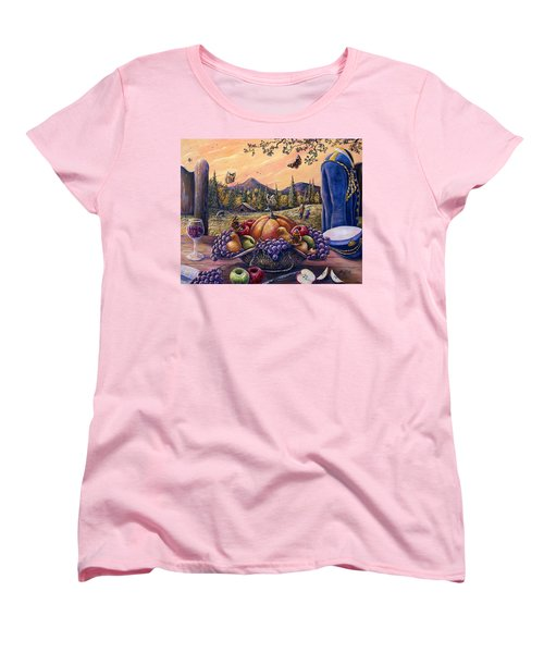 Admirals Harvest Women's T-Shirt (Standard Cut) by Gail Butler