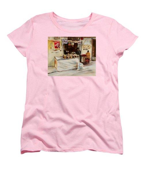 African Corner Store Women's T-Shirt (Standard Cut) by Sher Nasser
