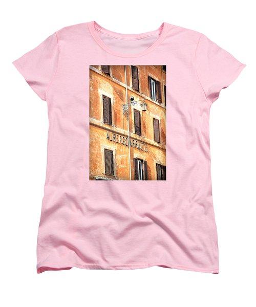 Albergo Abruzzi Women's T-Shirt (Standard Cut) by Valentino Visentini