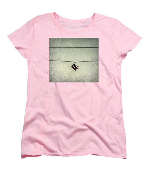 Women's T-Shirt (Standard Cut) featuring the photograph All Tied Up by Melanie Lankford Photography