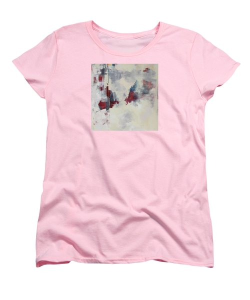 Women's T-Shirt (Standard Cut) featuring the painting Alliteration C2012 by Paul Ashby