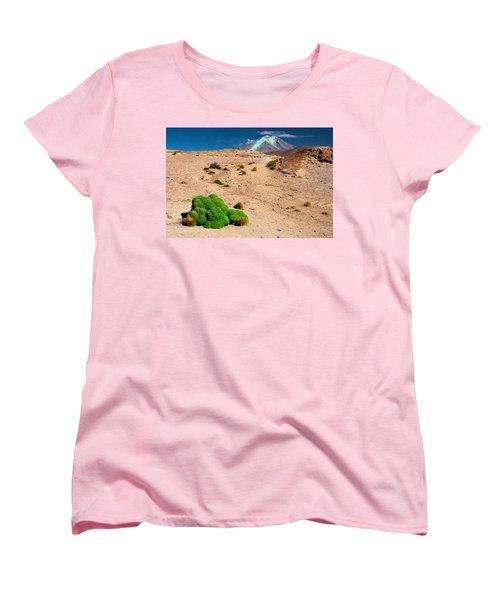Altiplano Landscape Women's T-Shirt (Standard Cut) by Dirk Ercken