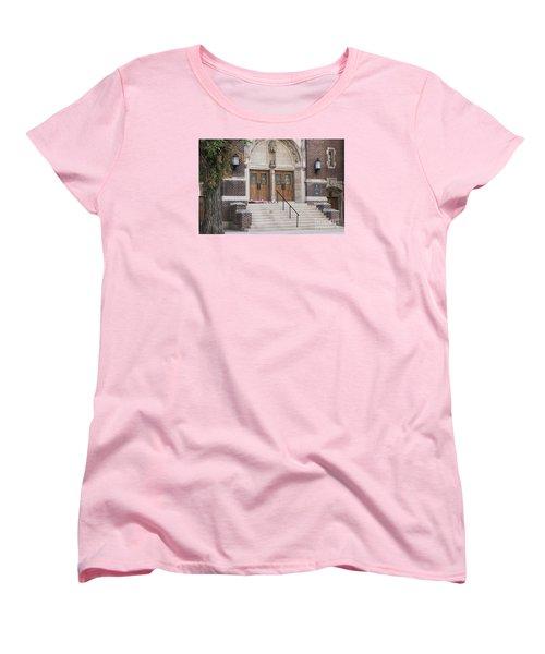 Women's T-Shirt (Standard Cut) featuring the photograph America The Beautiful by Janice Rae Pariza