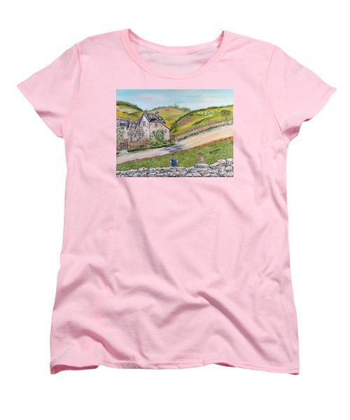 An Afternoon In June  Women's T-Shirt (Standard Cut) by Loredana Messina
