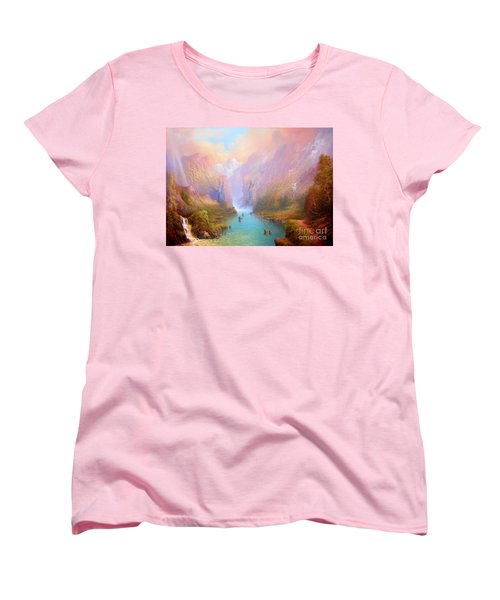 Anduin The Great River Women's T-Shirt (Standard Cut) by Joe  Gilronan