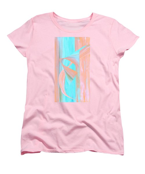 Women's T-Shirt (Standard Cut) featuring the digital art Angelfish by Stephanie Grant