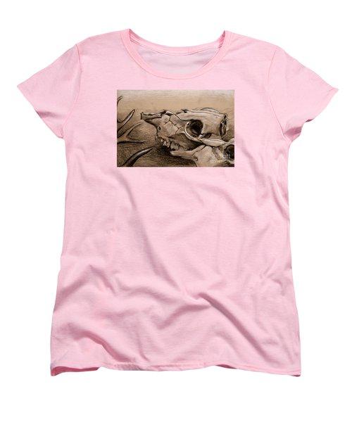 Animal Bones Women's T-Shirt (Standard Cut)