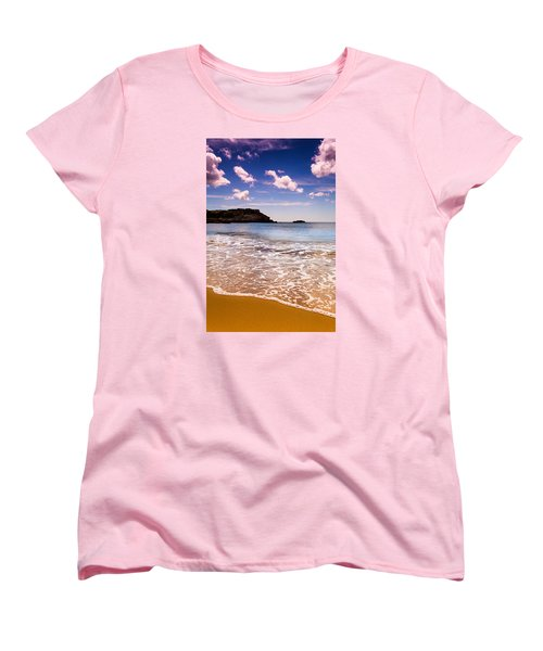 Around The Sea Women's T-Shirt (Standard Cut) by Edgar Laureano