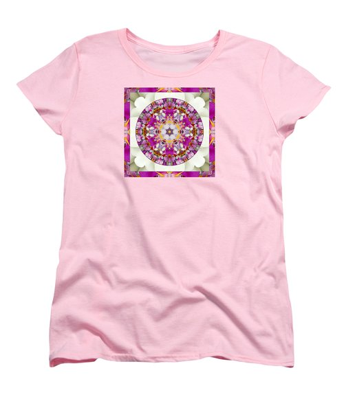 Women's T-Shirt (Standard Cut) featuring the photograph Aura Of Joy by Bell And Todd