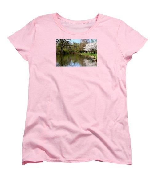 Baker Park Women's T-Shirt (Standard Cut) by Patti Whitten