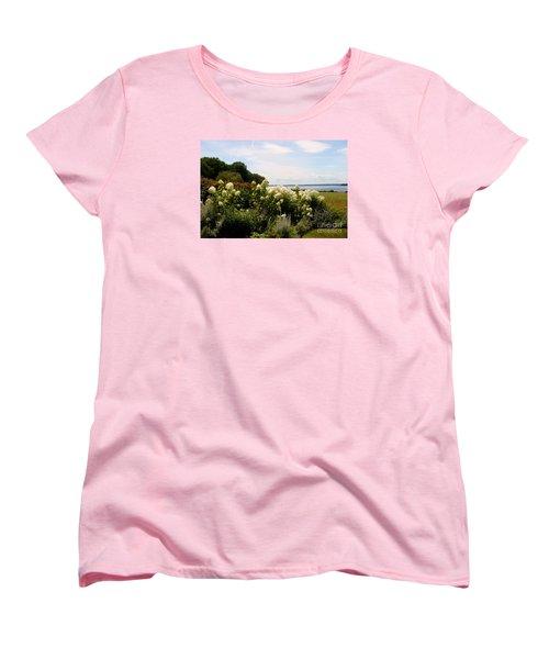 Bay View Bristol Rhode Island Women's T-Shirt (Standard Cut) by Tom Prendergast