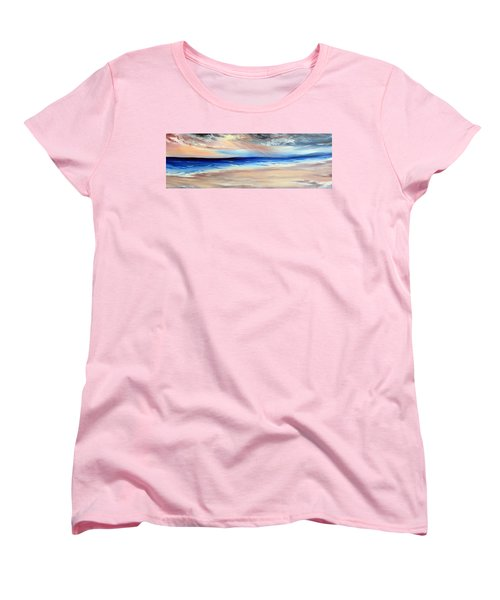Women's T-Shirt (Standard Cut) featuring the painting Be Near by Meaghan Troup