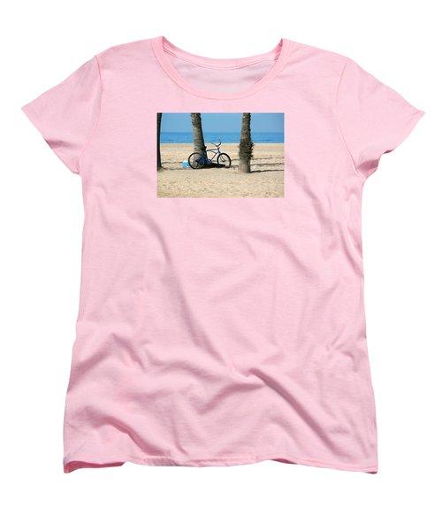 Beach Day Women's T-Shirt (Standard Cut) by Art Block Collections