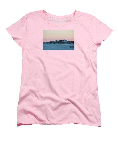 Beach Houses Women's T-Shirt (Standard Cut) by Cynthia Guinn