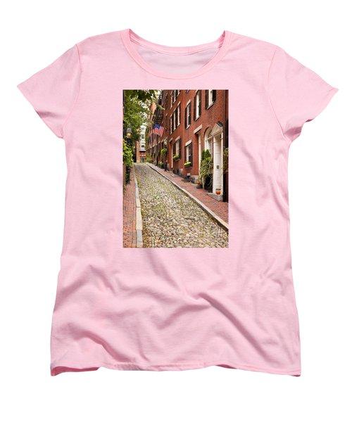 Beacon Hill Women's T-Shirt (Standard Cut) by Brian Jannsen