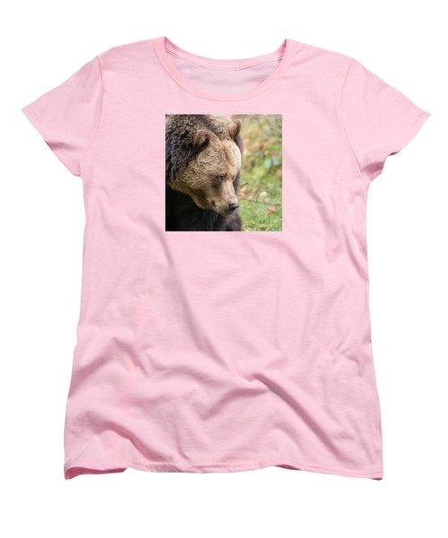 Bear's Profile Women's T-Shirt (Standard Cut) by Simona Ghidini