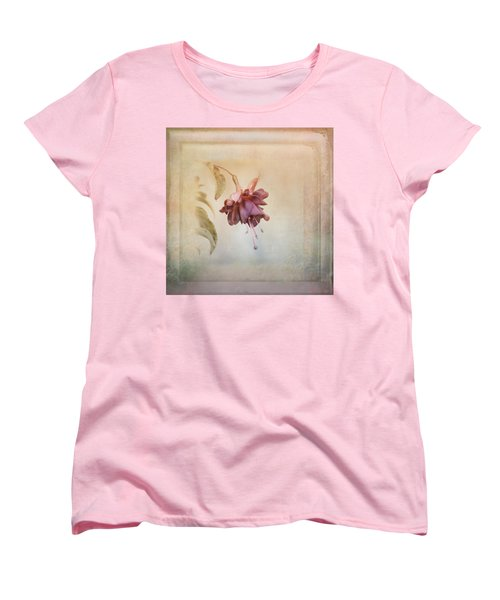 Beauty Fades Softly Framed Women's T-Shirt (Standard Cut) by Susan Capuano