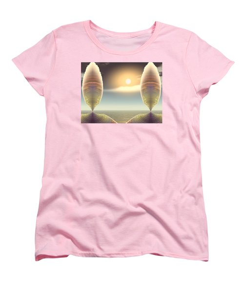Being There Women's T-Shirt (Standard Cut) by Wendy J St Christopher