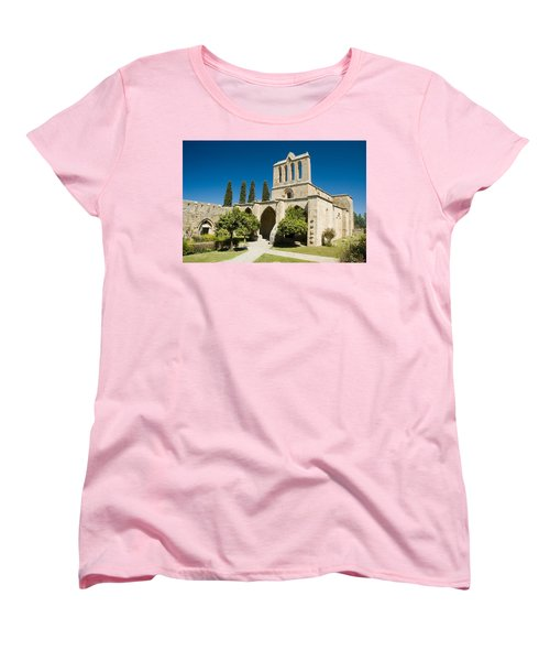 Bellapais Abbey Kyrenia Women's T-Shirt (Standard Cut) by Jeremy Voisey