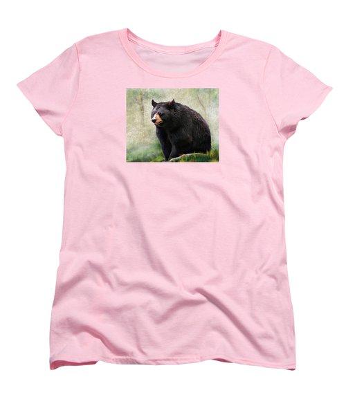 Black Bear Women's T-Shirt (Standard Cut)