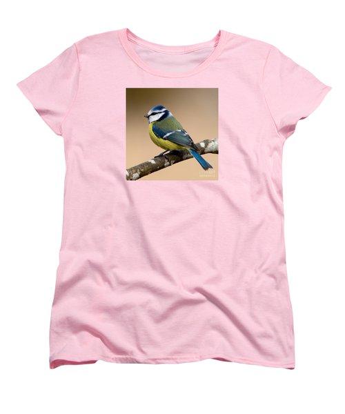 Blue Hood  Women's T-Shirt (Standard Cut) by Torbjorn Swenelius