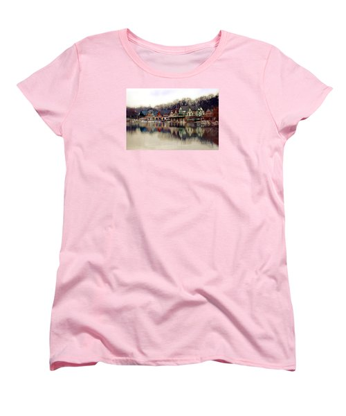 Boathouse Row Philadelphia Women's T-Shirt (Standard Fit)