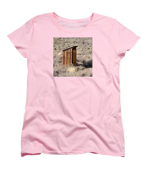 Bodie Outhouse Women's T-Shirt (Standard Cut) by Art Block Collections