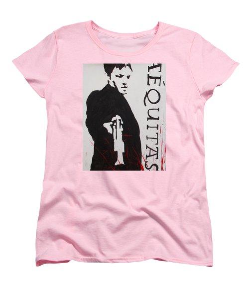 Boondock Saints Panel One Women's T-Shirt (Standard Cut) by Marisela Mungia
