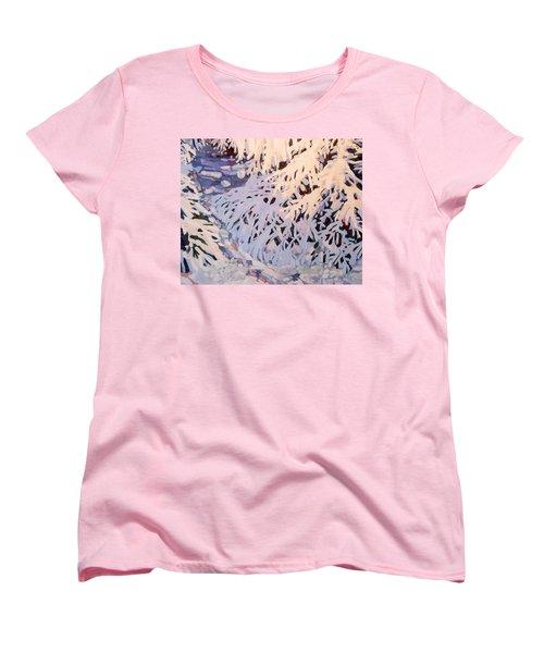 Bough-zers Women's T-Shirt (Standard Cut) by Phil Chadwick