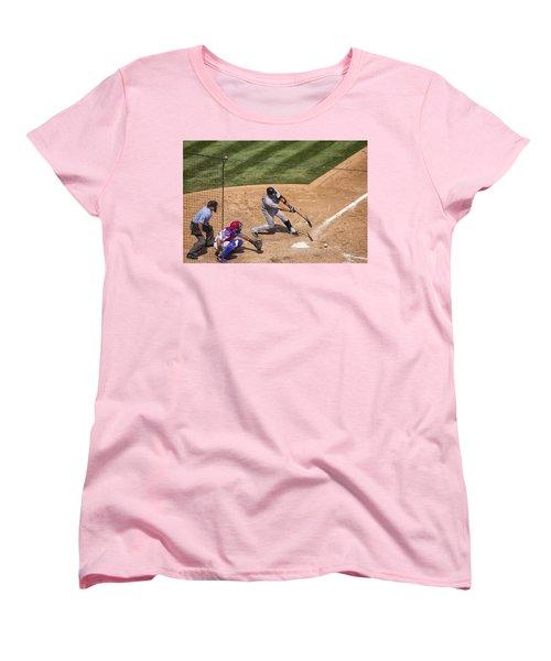 Broken Bat Women's T-Shirt (Standard Cut)