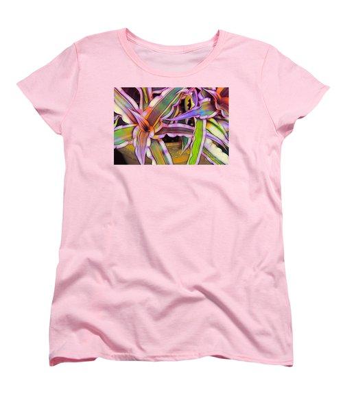 Bromeliads Women's T-Shirt (Standard Cut) by Judi Bagwell