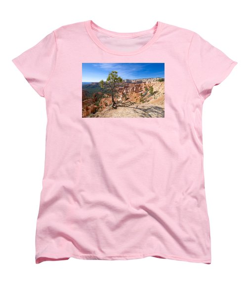Bryce Canyon Women's T-Shirt (Standard Cut) by Juergen Klust
