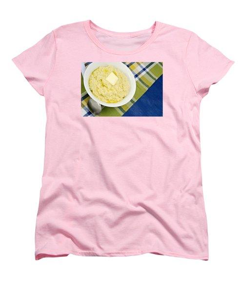 Cheese Grits With A Pat Of Butter Women's T-Shirt (Standard Cut) by Vizual Studio
