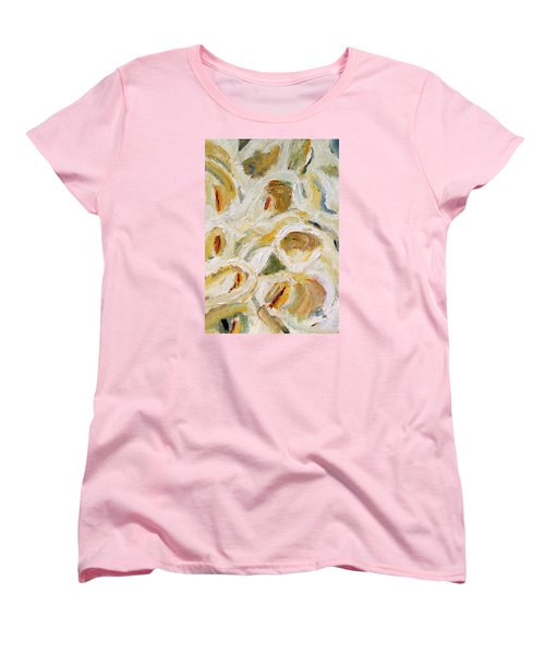 Cascade Of Calla Lillies Women's T-Shirt (Standard Cut) by Michael Helfen