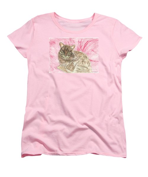 Charlie Women's T-Shirt (Standard Cut) by Tracey Williams