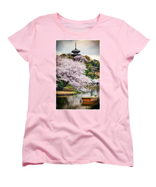 Cherry Blossom 2014 Women's T-Shirt (Standard Cut) by John Swartz