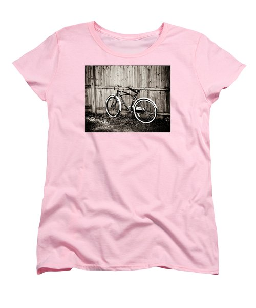 Women's T-Shirt (Standard Cut) featuring the photograph Classic Ride by Sara Frank