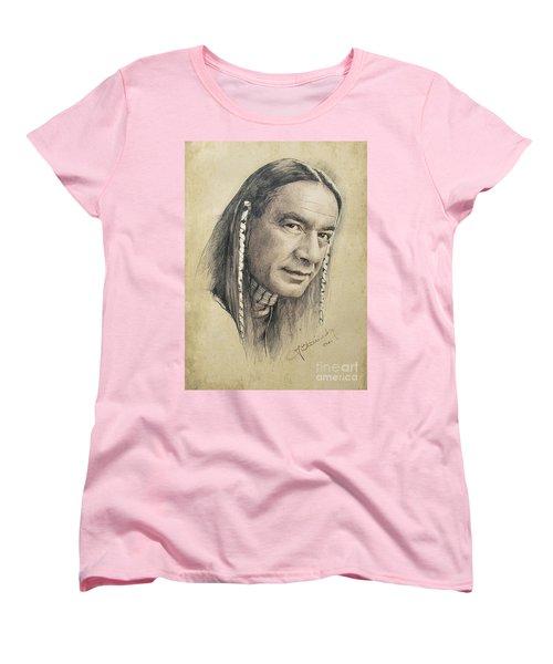 Cloud Dancing Women's T-Shirt (Standard Cut) by Jaroslaw Blaminsky