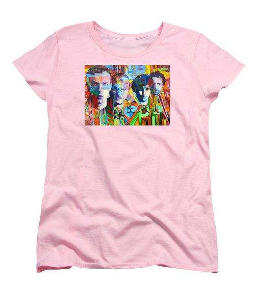 Coldplay Women's T-Shirt (Standard Cut) by Joshua Morton