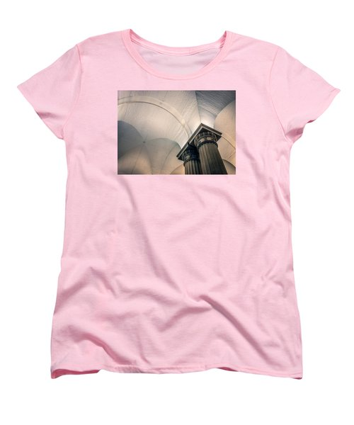 Women's T-Shirt (Standard Cut) featuring the photograph Columns by Rob Sellers