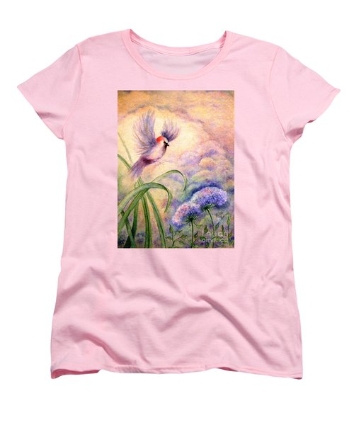 Coming To Rest Women's T-Shirt (Standard Cut) by Hazel Holland