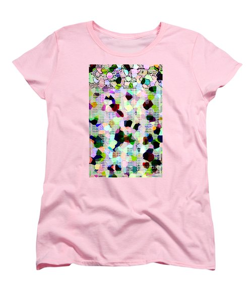 Women's T-Shirt (Standard Cut) featuring the photograph Confetti Table by Ecinja Art Works